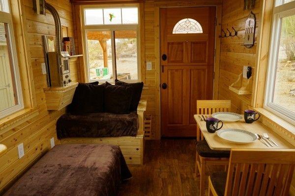 Ааронс ремесленник крошечные дома на колесах использованием модифицированных Дэн похотливый планы 002