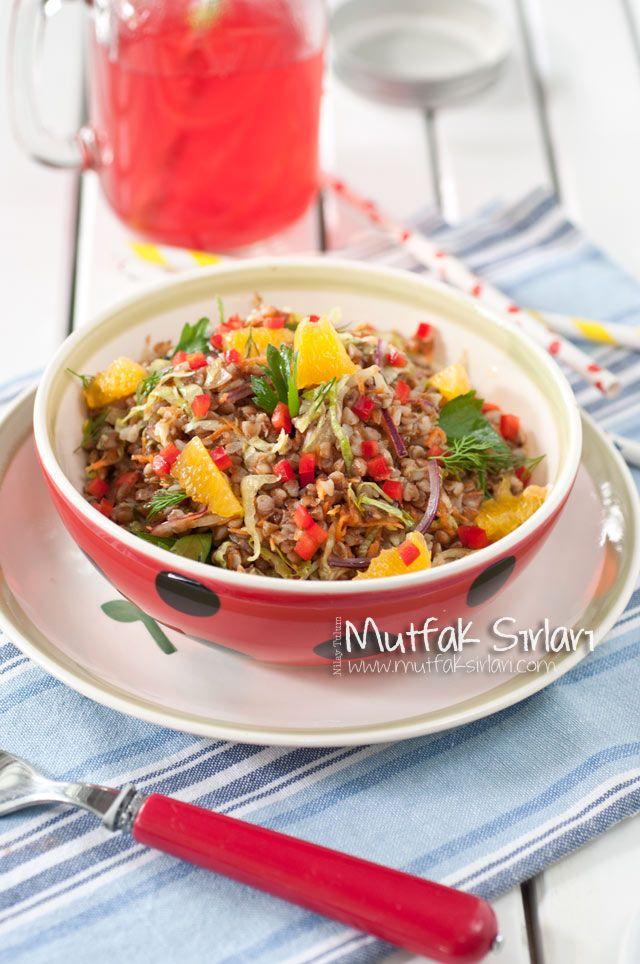Karabuğday Salatası