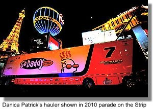 danica patrick car hauler - Bing Images