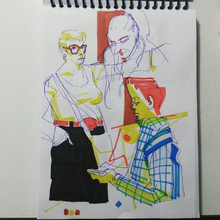 sketchbook - subway - Welton Santos