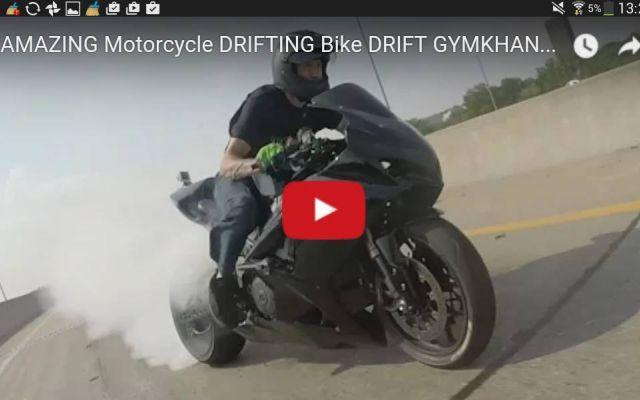 il vero drifting sulle strade americane video Questo filmato ci mostra dei motociclisti cimentarsi in una ghymkana extrema su una autostrada americana,  i pazzi piloti sono dei veri e propri folli che si divertono zigzagando fra le a #suzuki #drifting.race #video