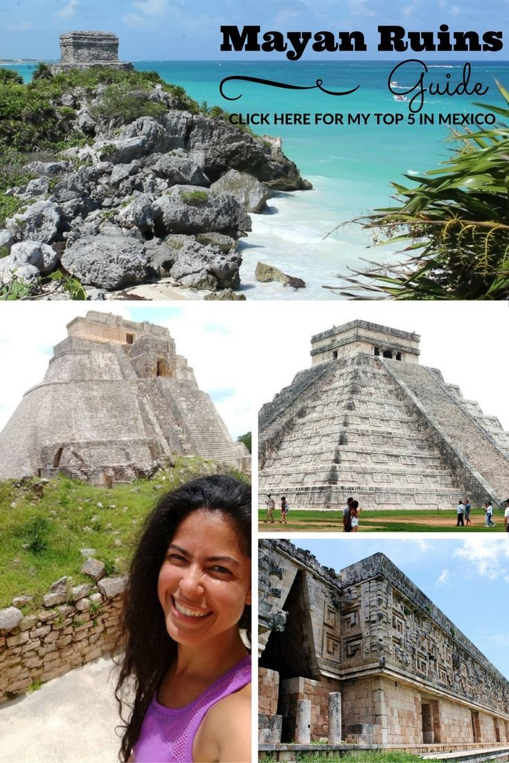 Wondering which are the best Mayan ruins to visit from #PlayaDelCarmen, #Cancun or Merida? Check out my favorite Mayan cities from my latest trip to #Mexico.