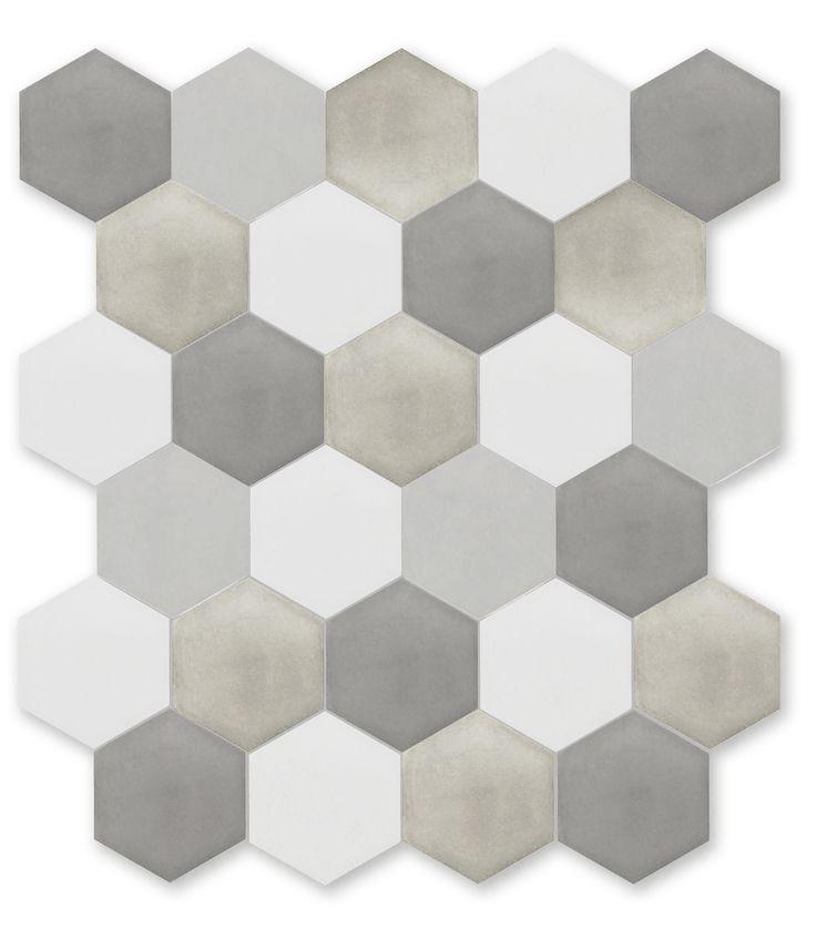 grey hex medley