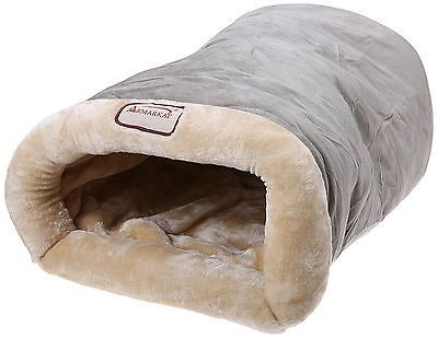 Animals Cats: Heated Pet Bed Dog Cat Winter Warm Soft Cave Sleeping Shelter Rescue Plush Nest -> BUY IT NOW ONLY: $37.55 on eBay!