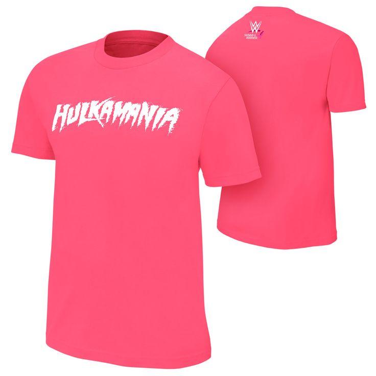 #WWE #CourageConquerCure Hulk Hogan T-Shirt