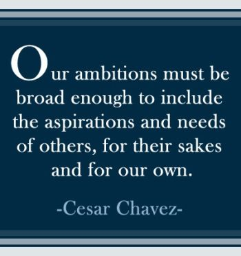 quotes by Cesar Chavez - Google Search
