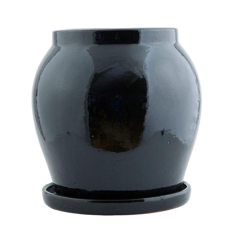 Antique kruka L, svart i gruppen Inredningsdetaljer / Dekoration / Vaser