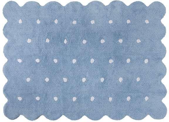 Lorena Canals, Teppe, Galleta, 120 x 160 cm, Blue