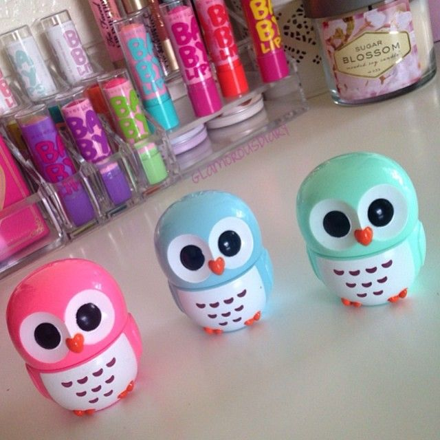 49 besten owl lipbalm bilder auf pinterest lipgloss. Black Bedroom Furniture Sets. Home Design Ideas