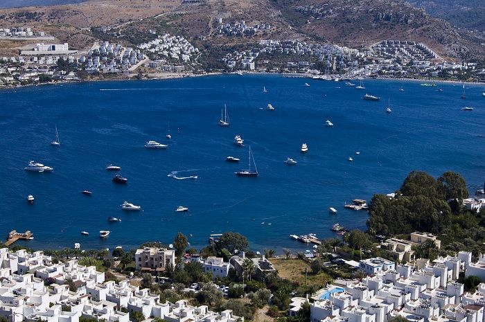 Gundogan is one of the most beautiful beaches in Bodrum