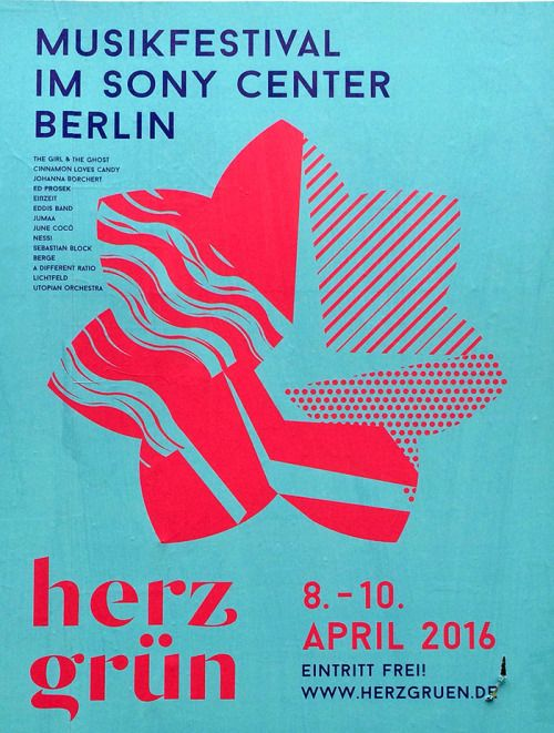 // Herz Grün Musikfestival – found in Friedrichshain                                                                                                                                                     Mehr