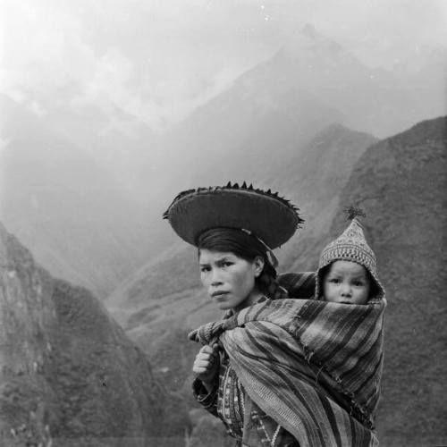 Peruvian woman 1950s