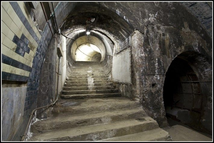While all infiltration into abandoned spaces is somewhat fascinating, this seems like a particularly exciting example.
