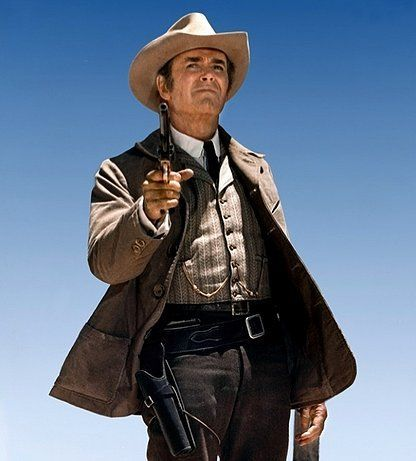 MY NAME IS 'NOBODY' - Henry Fonda as gunman 'Jack Beauregard' - Directed by Sergio Corbuce - Universal Pictures - Publicity Still.