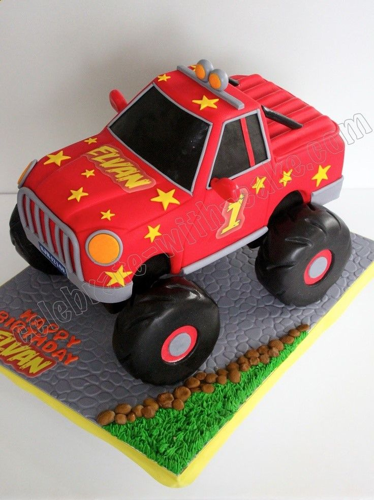 133 Best Ideas About Cakes Trucks On Pinterest Monster