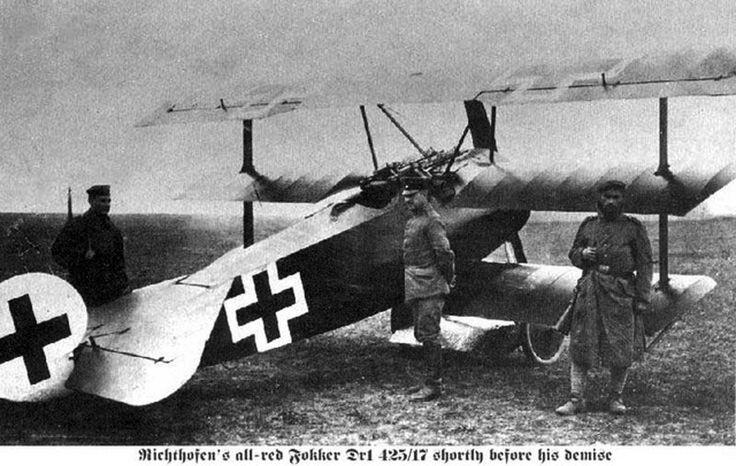 Von Richthofen. El Baron Rojo