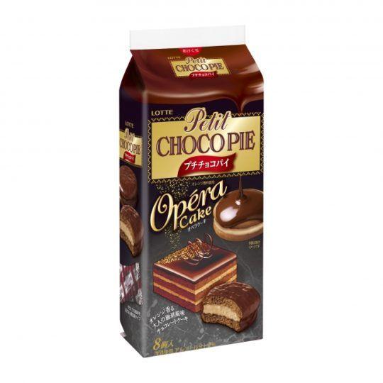 ロッテチョコパイに冬限定オペラケーキと深みチョコ仕立てが登場