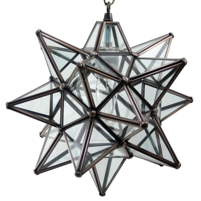 moravian glass star light fixture 12 clear wholesale moravian star. Black Bedroom Furniture Sets. Home Design Ideas