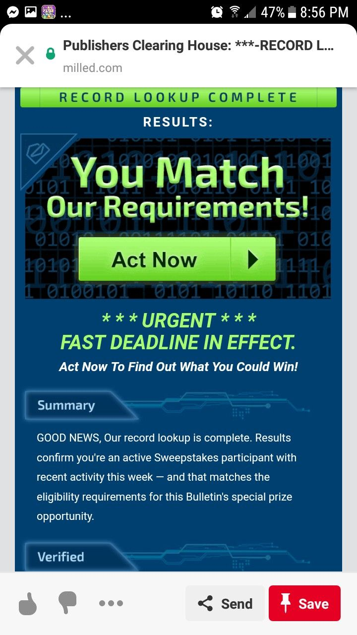 PCH I RROJAS CLAIM MY OWNERSHIP TO WIN THIS PRIZE    | ACT NOW RR in