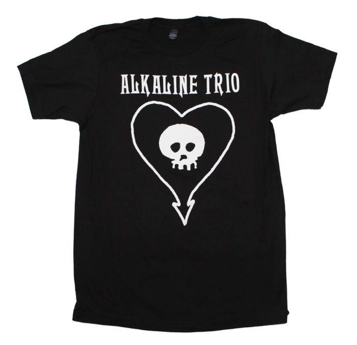 Alkaline Trio Cla... has just been added to our store. Get it here while still available http://everythinglicensed.com/products/alkaline-trio-classic-heartskull-t-shirt?utm_campaign=social_autopilot&utm_source=pin&utm_medium=pin