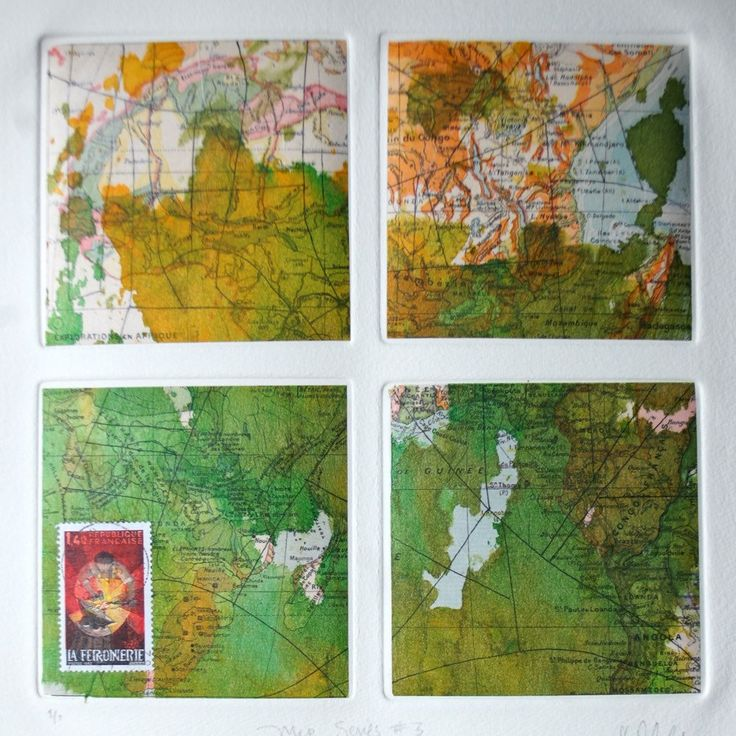 New listing, map collage.