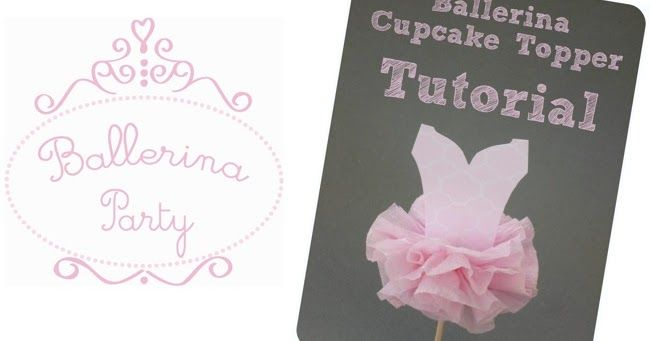 Here is a tutorial to make the cutest cupcake toppers for a Ballerina party.  You could also update the body to have wings for a Fairy ...
