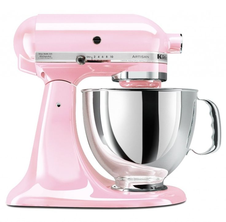 KitchenAid KSM150PSPK  Artisan Series 5-Quart Mixer Pink --> life will be so good :-)