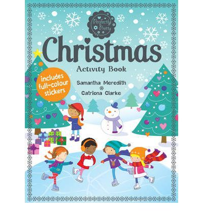 Illustrates festive gift that includes full of puzzles and doodles. This title helps readers to decorate the perfect stocking, design and wintery snow globe, draw a fairy on top of the Christmas tree and much, much more. It includes over 60 full-colour stickers.