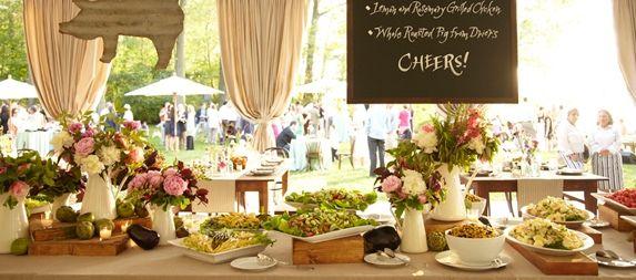 Buffet Table Ideas Wedding Reception: 25+ Cute Buffet Style Wedding Ideas On Pinterest