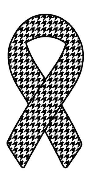 Houndstooth magnets...benefit Tuscaloosa tornado victims.
