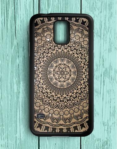 Pattern Aztec Logo Samsung Galaxy S5 Case