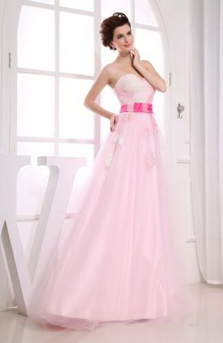 Sweetheart Satin Prom Gowns - Order Link: http://www.thebridalgowns.com/sweetheart-satin-prom-gowns-tbg7651 - SILHOUETTE: A-Line; SLEEVE: Sleeveless; LENGTH: Floor Length; FABRIC: Satin; EMBELLISHMENTS: Appliques - Price: 162.99USD