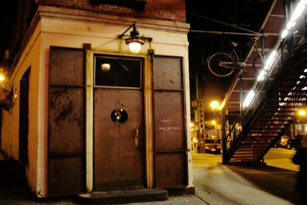 Easily Mistaken, this secret eatery marked only by a bicycle in Williamsburg serves up some mouth watering food.