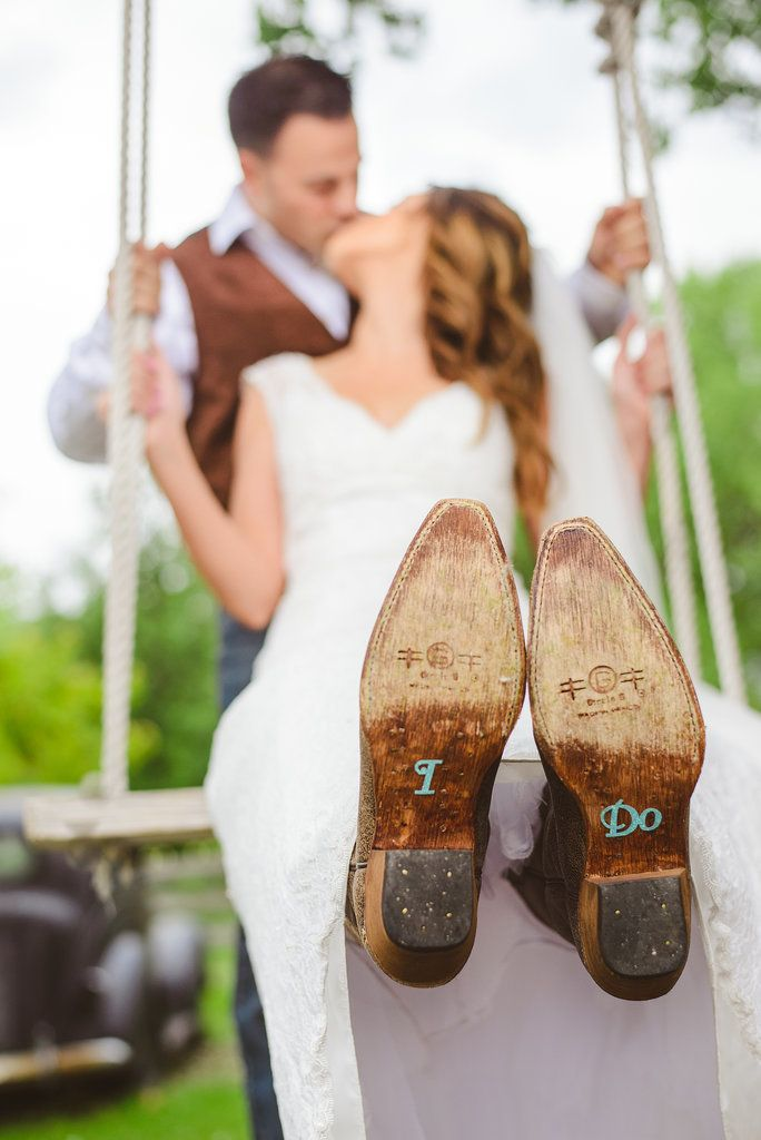 Western wedding inspiration.
