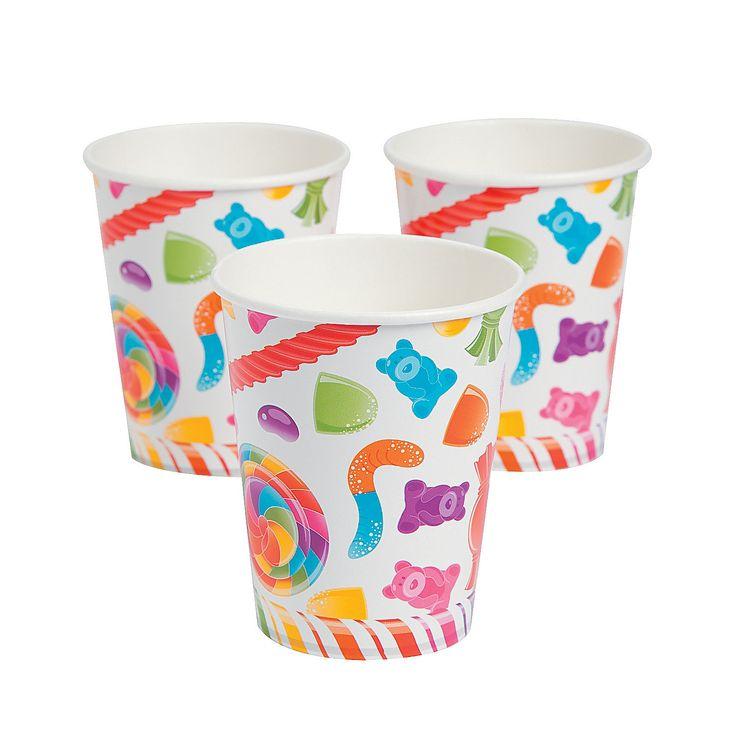 Lollipop Lane Cups - OrientalTrading.com