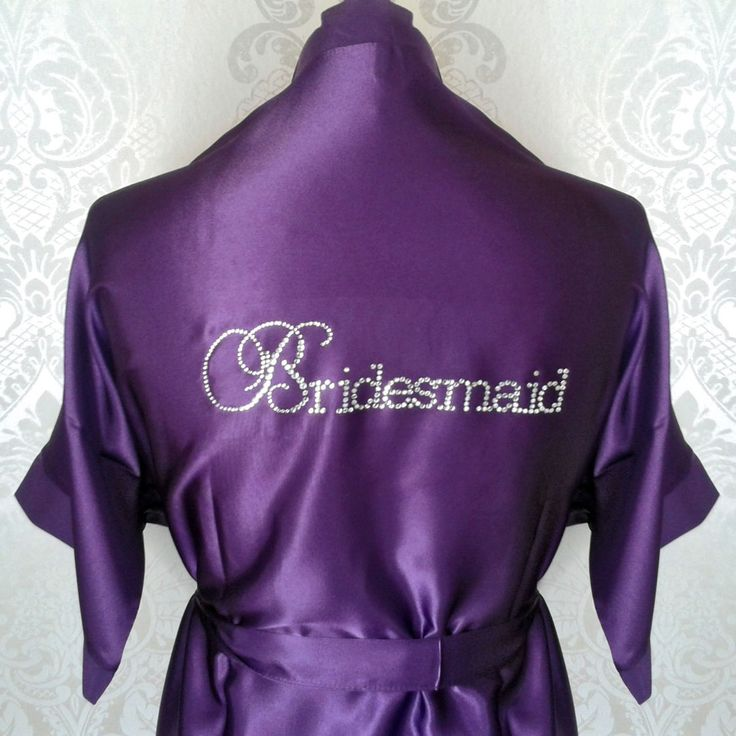 15 best Personalised Bridal Party robes/dressing gowns images on ...