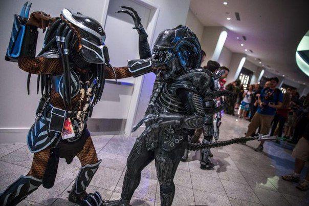 alien vs predator cosplay   Alienware Arena