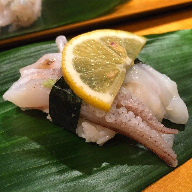 iloverocolin: #washoku #japan #japanesefoods #sushi #tenpura # 和 食 # 日本 食 # 寿司 # # す し て ん ぷ ら # 天 ぷ ら # 鍋 # 烏賊 下 足
