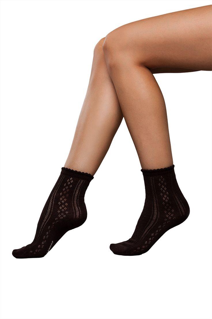 J.Press női csipke mintás zokni [N° WS196] Ár: 820Ft