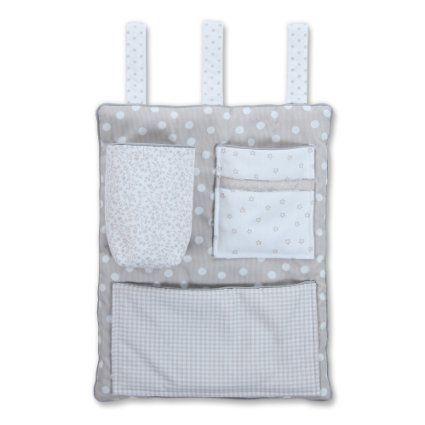 Tobi Babybay Utensilo für alle Babybay Betten und Kinderbett Melina perlgrau: Amazon.de: Garten