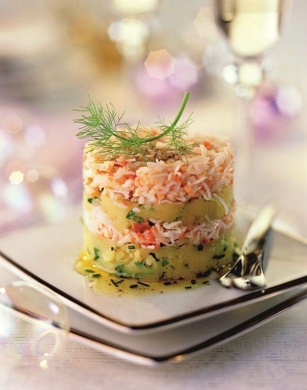Aardappelterrines met krab - Weekend Knack !
