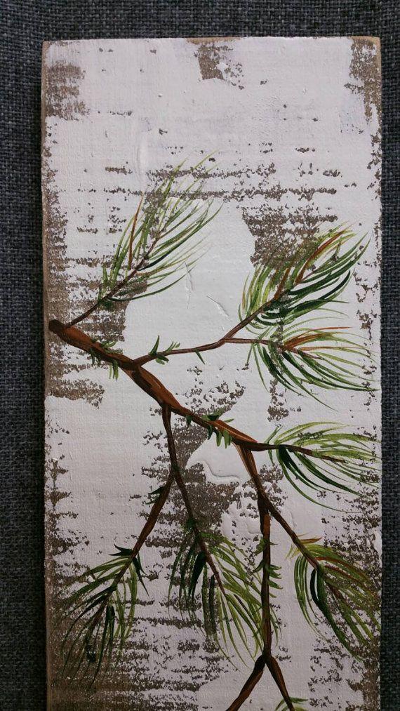 1000 id es sur le th me branches peintes sur pinterest branches bombe de peinture et grue - Branche de bois ...