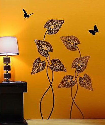 Wall Stencil Art 14 best wall stencils & art images on pinterest | wall stenciling