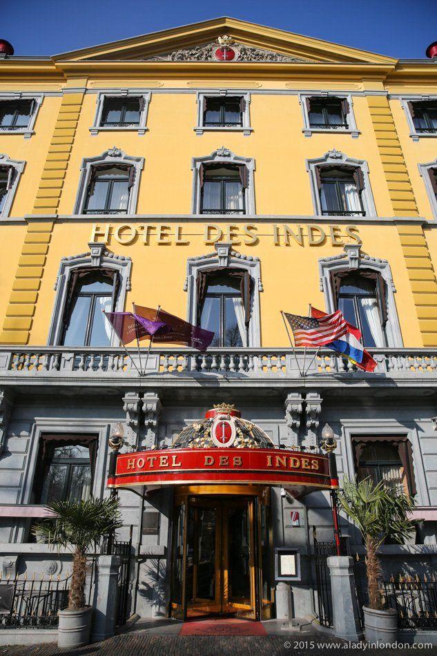 Hotel Des Indes in The Hague, Netherlands
