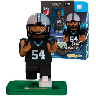 Shaq Thompson OYO Sports Carolina Panthers Player Minifigure  #shaqthompson #panthers #superbowl50 #nflpa #oyosports