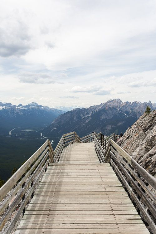 The Top of The Gondola, Banff, Canada