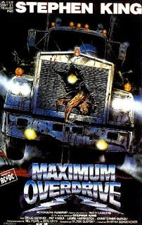 Stephen King's ' Maximum Overdrive ' . ' CURTISS !! ARE YOU DEADDD ? ' lol .