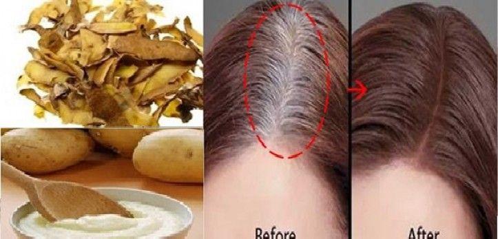 voici comment colorier ses cheveux blancsavec un seul ingrdient naturel beaut sant pinterest comment - Coloration Naturelle Cheveux Blancs