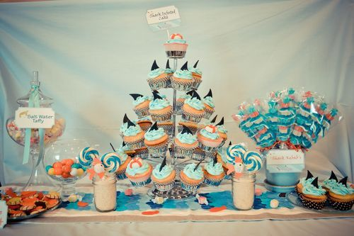 Shark Party - I think some of this can be incorporated into the pool party theme.