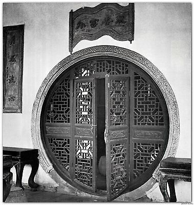 1940 CHINESE ARCHITECTURE HARDSCAPING homes gardens symbolism nature culture